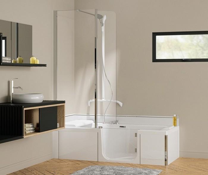 catalogue 2018 sanitaire baignoire douche 2 en 1 kinedo. Black Bedroom Furniture Sets. Home Design Ideas