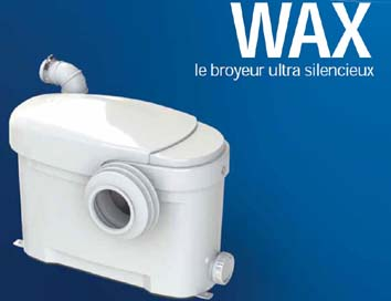 VENTE : BROYEUR ADAPTABLE ULTRA SILENCIEUX WAX