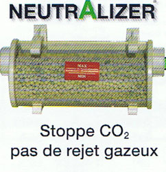 VENTE : NEUTRALIZER CONDENSATS ACIDE POLAR FRANCE NEUTR25 50 kw