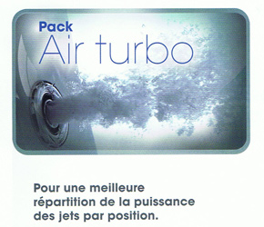 VENTE : PACK AIR TURBO POUR SPAS KINEDO