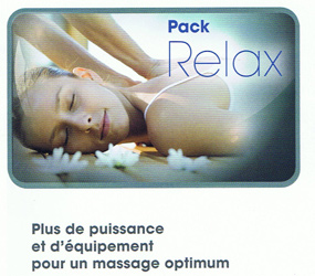 VENTE : PACK RELAX POUR SPA KINEDO A400 VERSION