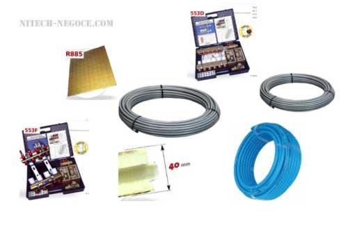 kit plancher chauffant eau amazing best sqm lectrique de. Black Bedroom Furniture Sets. Home Design Ideas